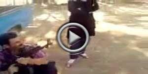 صحنه به قتل رساندن سه دختر توسط پدر با اسلحه در کرمانشاه