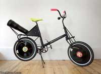 دوچرخه ای عجیب که موسیقی پخش می کند