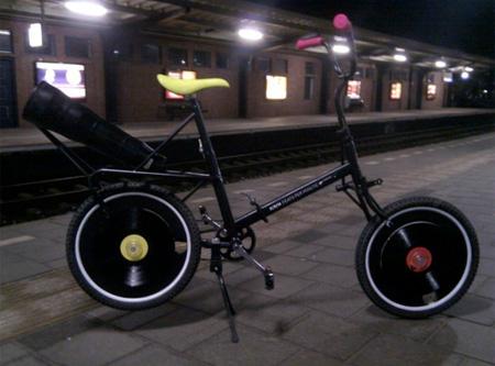 دوچرخه عجیب