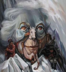 چهره های که در نقاشی ها پنهان شده اند