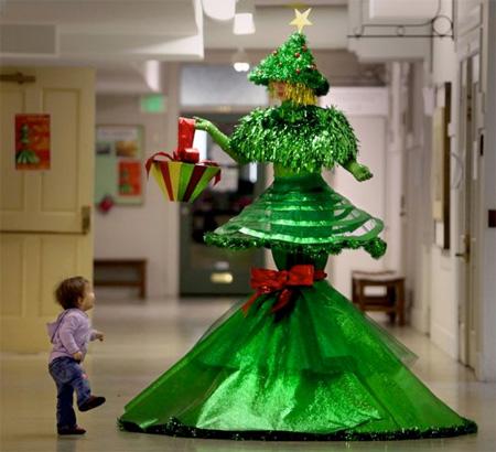 درخت کریسمس های غیرعادی و عجیب