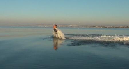 پرواز روی آب
