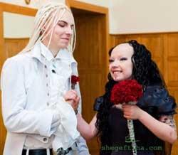 ازدواج دختر و پسر جهنمی به همراه تصاویر