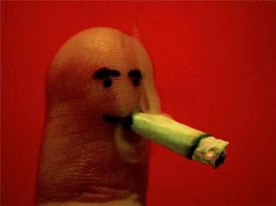 هنرنمایی جالب با انگشتان دست