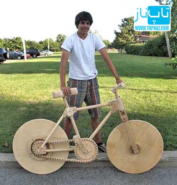 دوچرخه چوبی