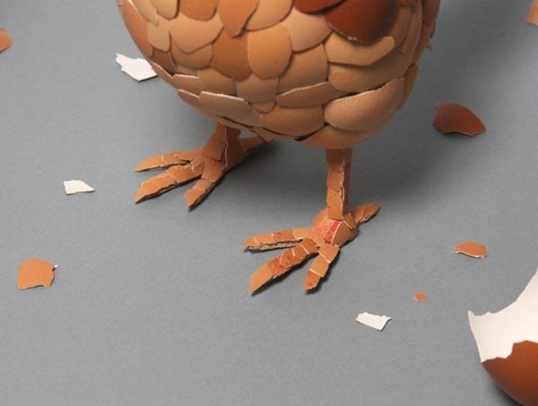 وقتی که پوست تخم مرغ، مرغ شود
