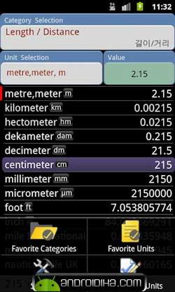 تبدیل واحد ها با ConvertPad Plus v2.0.0 آندروید