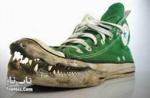 خنده دارترین مدل های کفش