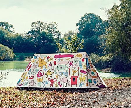 چادرهای مسافرتی بسیار زیبا