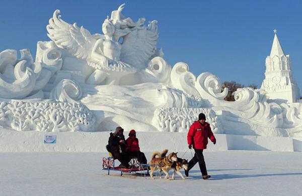 بناهای یخی جهان