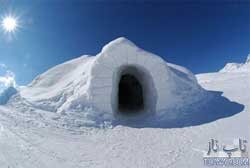 نگاهی به هتل های شگفت انگیز کاملا یخی