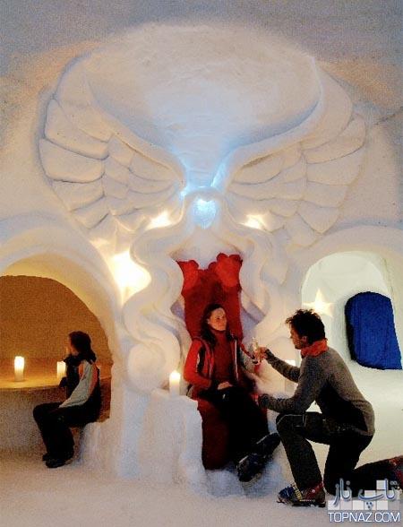 هتل های شگفت انگیز کاملا یخی