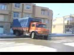 کلیپ دستی کشیدن با کامیون