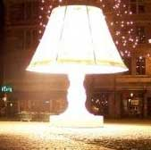 بزرگترین چراغ مطالعه در سوئد