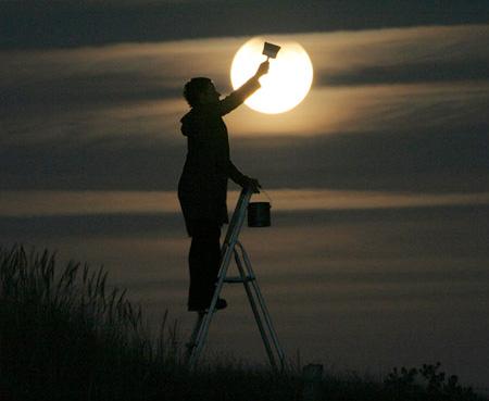 تصاویری زیبا از مهتاب