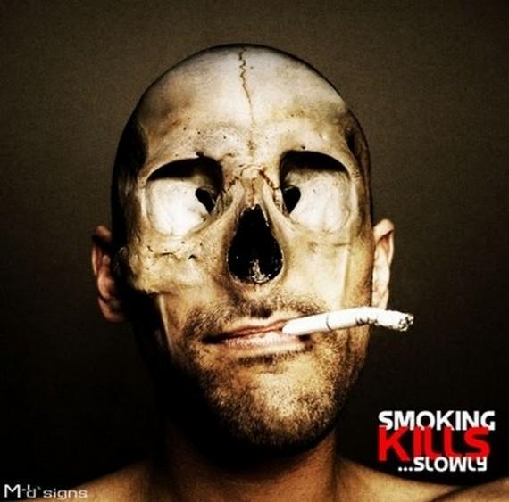 تصاویر بسیار تاثیر گذار ضد سیگار