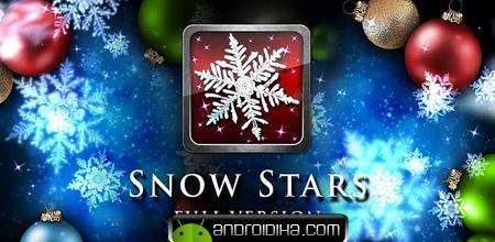 تم زیبای Snow Stars FULL v1.1 آندروید
