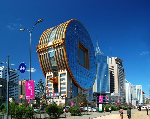 زشت ترین ساختمان جهان در چین