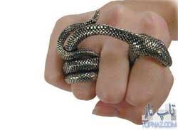 تصاویری جالب از عجیب ترین انگشتر ها(سری 1)