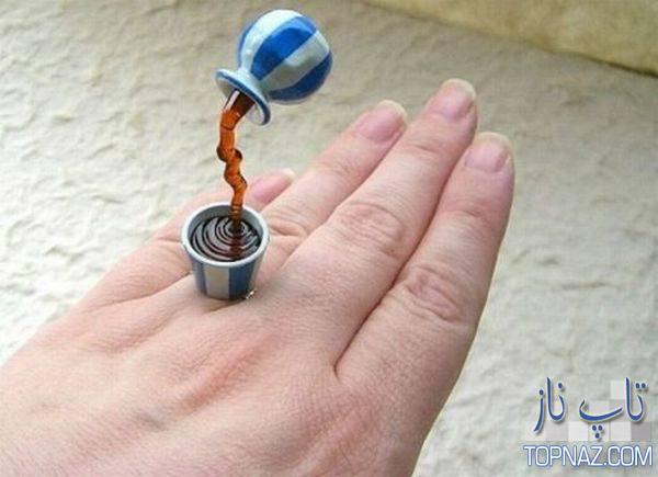 عجیب ترین انگشتر ها