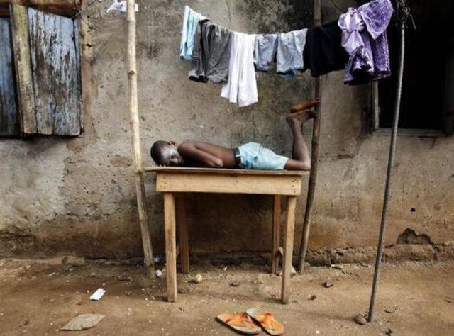 خنده دارترین مکان ها برای خوابیدن