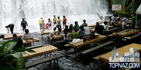 شگفت انگیزترین رستوران فیلیپین