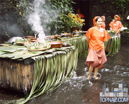 رستوران آبشاری