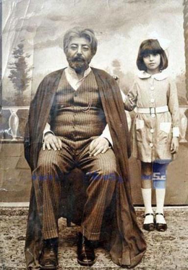 تصویری قدیمی از لیلاحاتمی و جمشیدمشایخی