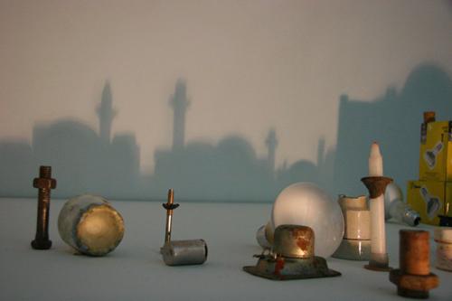 خلق آثار هنری زیبا با سایه اجسام