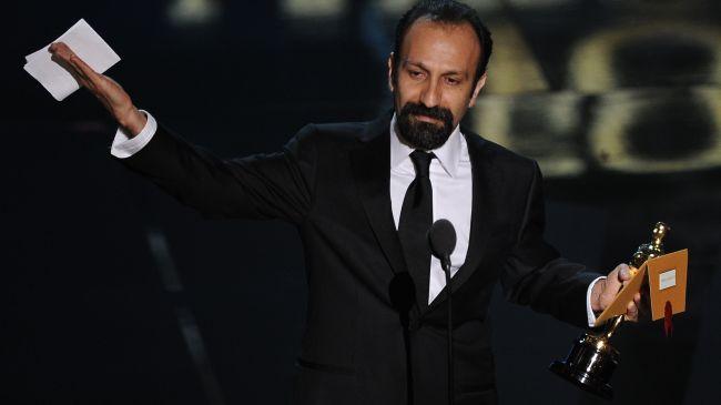 کلیپ اهدای جایزه اسکار به اصغر فرهادی