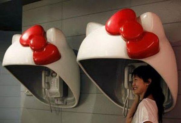 باجه تلفن های عجیب