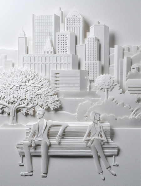 آثار سه بعدی زیبا با کاغذ