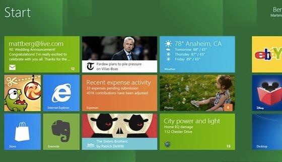 لیست اولین بازی های ویندوز 8 منتشر شد