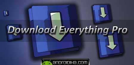 دانلود از تورنت با Download Everything Pro v4.0.2 آندروید