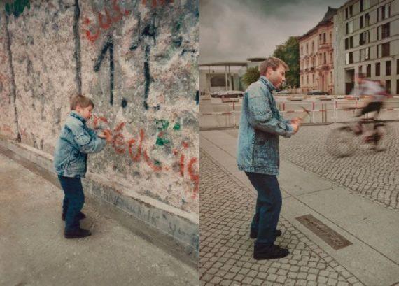 تصاویر جالب افراد از جوانی و پیری