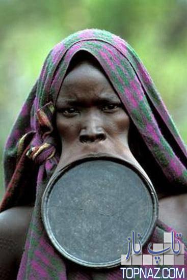 زنان لب بشقابی