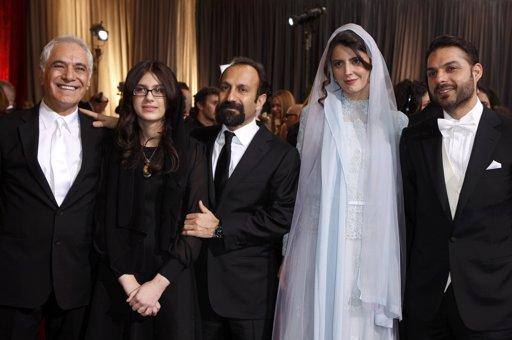 عکس های لیلا حاتمی در مراسم اسکار ۸۴ با لباسی سفید
