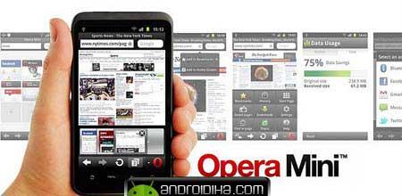 مرورگر آندروید Opera Mini v6.52 اپرا مینی