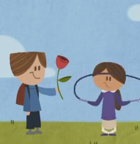 کلیپ انیمیشن دیدنی گوگل به مناسبت روز عشق