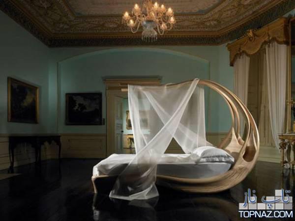 تخت خواب های جالب و غیرمعمولی