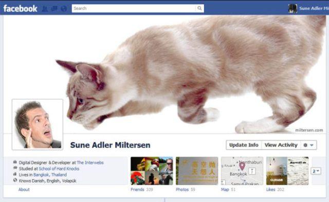 پروفایلهای جالب فیسبوک