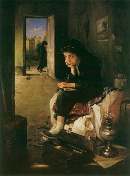 عکس نقاشی های زیبا اثر استاد کاتوزیان