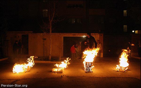 درباره آداب و رسوم, آئین, تاریخچه چهارشنبه سوری