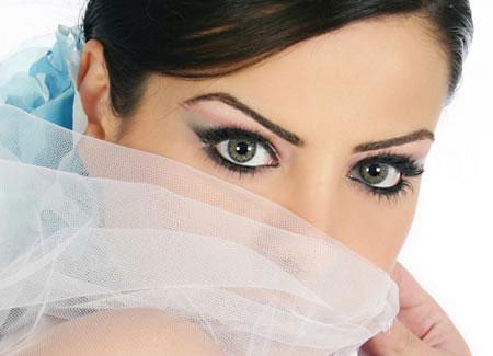 42721464929995390583 عکس مدل های جدید آرایش چشم و صورت آبان 90