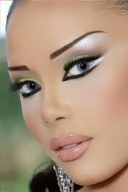 52122749867396861774 عکس مدل های جدید آرایش چشم و صورت آبان 90
