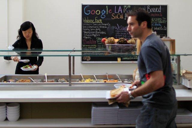 تصاویری از اداره گوگل در لوس آنجلس