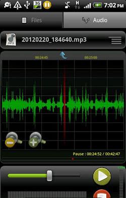 ضبط صدا با RecForge Pro v2.0.14