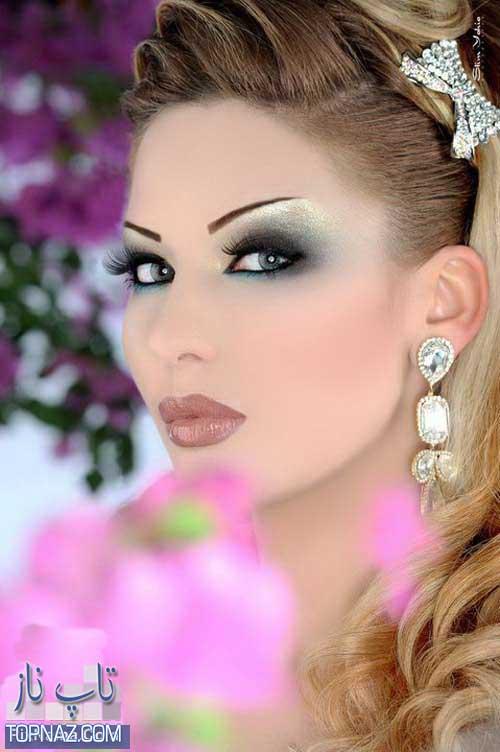 مدل آرایش چهره موهای زنانه, سایه چشم