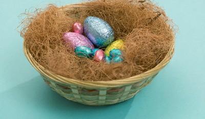 تزیین تخم مرغ مخصوص سفره هفت سین