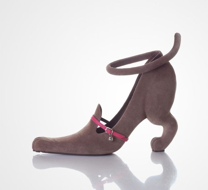 مدل کفش های عجیب و هنرمدانه زنانه